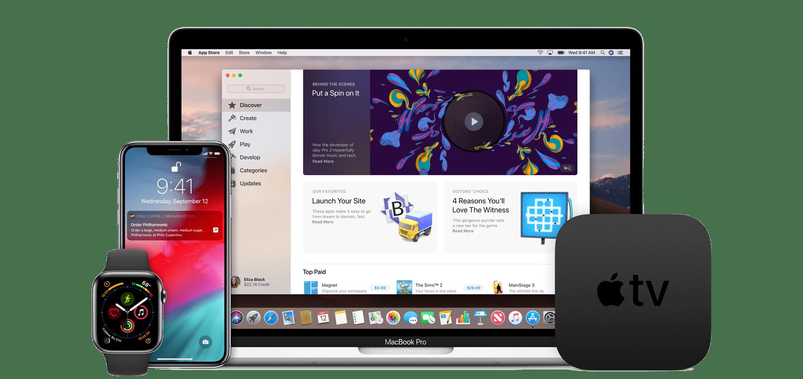 Apple ios/Mac/WatchOS/TVOS 描述文件获取