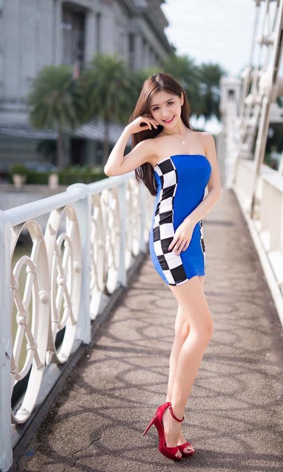 马来西亚春色 白嫩模特儿Angela